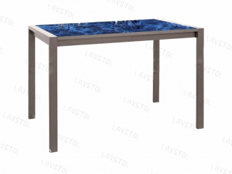 Стол раздвижной Элвис со столешницей из пластика