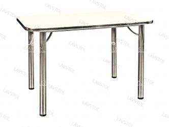 Стол раздвижной Квадро со столешницей из пластика