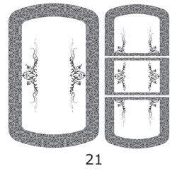 Декоры  Oracal для столов с кожей_17
