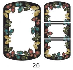 Декоры  Oracal для столов с кожей_22