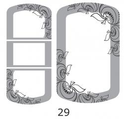 Декоры  Oracal для столов с кожей_25
