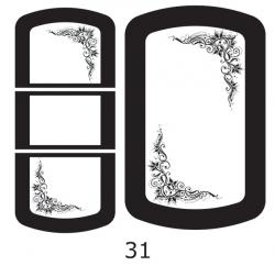 Декоры  Oracal для столов с кожей_27