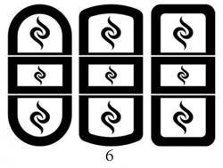 Декоры  Oracal для столов с кожей_2