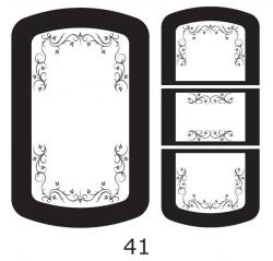 Декоры  Oracal для столов с кожей_37