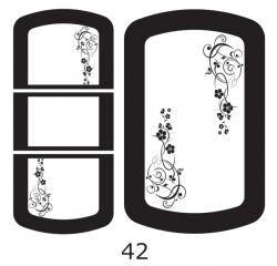 Декоры  Oracal для столов с кожей_38