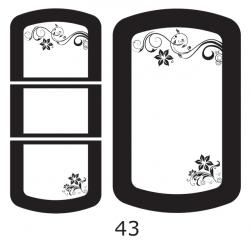 Декоры  Oracal для столов с кожей_39