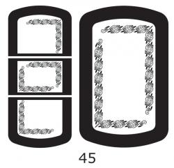 Декоры  Oracal для столов с кожей_41