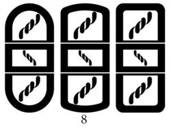 Декоры  Oracal для столов с кожей_4