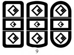 Декоры  Oracal для столов с кожей_5
