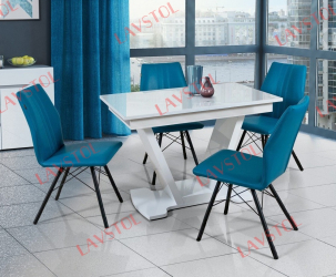 Стол с фотопечатью раздвижной Костон-2