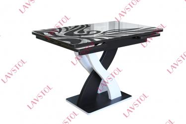 Стол с фотопечатью раздвижной Прованс-5