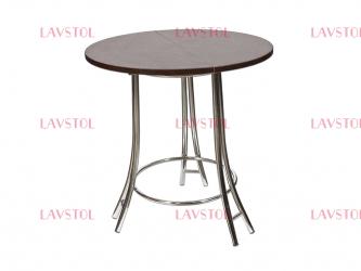 Стол круглый Комфорт со столешницей из пластика