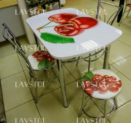 Стол с фотопечатью раздвижной Ноктюрн