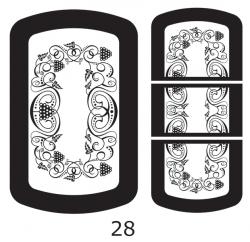Декоры  Oracal для столов с кожей_24