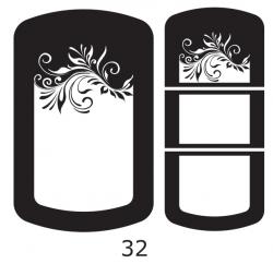 Декоры  Oracal для столов с кожей_28