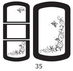 Декоры  Oracal для столов с кожей_31