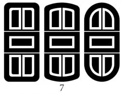 Декоры  Oracal для столов с кожей_3