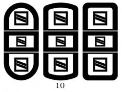 Декоры  Oracal для столов с кожей_6